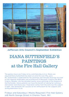 Fire Hall Gallery September Exhibit