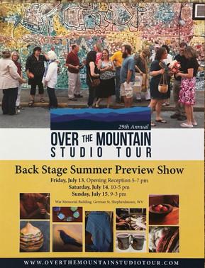 Over the Mountain Studio Tour