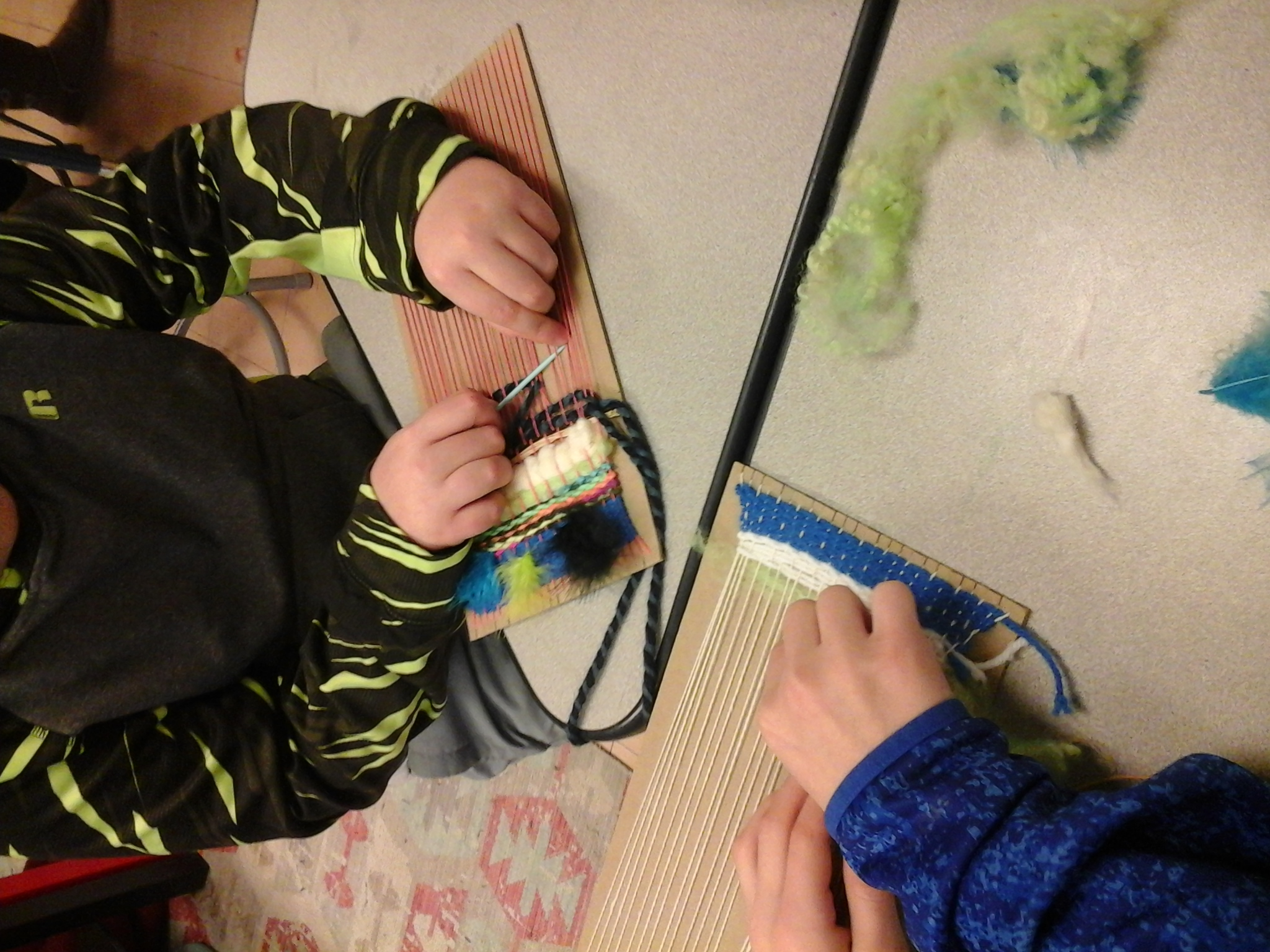 Teaching Arts Creatively - weaving
