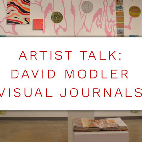 Artist Talk This Friday Sept. 21st 2018
