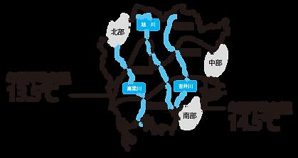 岡山県地図