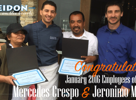 January 2016 Employees of the Month