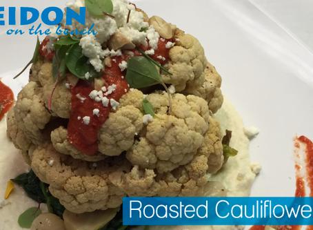 Roasted Cauliflower Platter