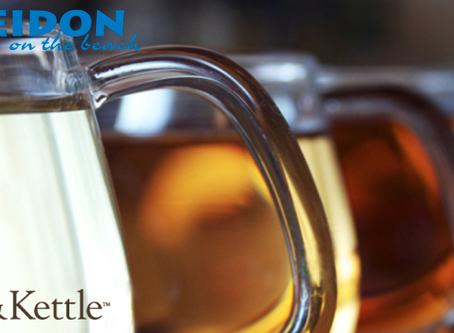 Leaf and Kettle Premium Teas at The Poseidon