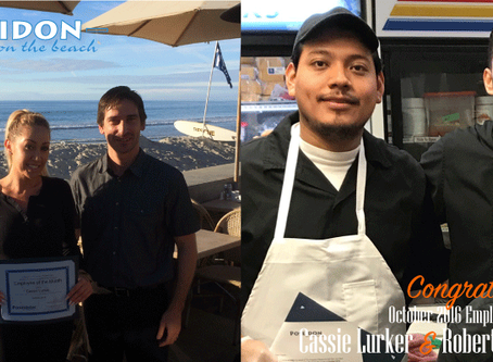 Congratulations To Our October Employees of the Month
