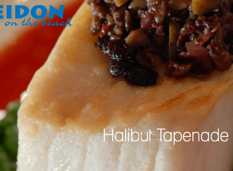 Enjoy Fall Favorites at Home | Halibut Tapenade