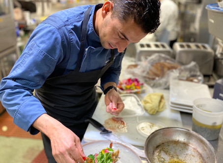 A Love For Fresh Food... Meet Executive Chef Jamal - Culinary Excellence