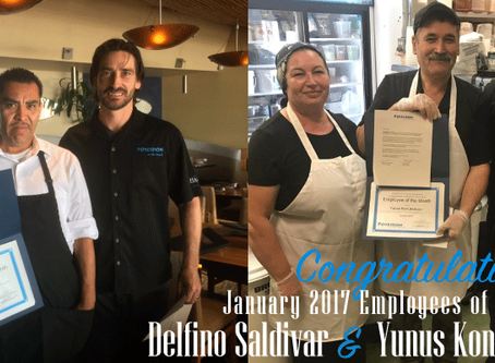 Celebrating Our January 2017 Employees of the Month
