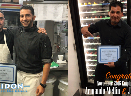 A Round of Applause For Our November Employees of the Month