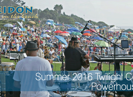 2016 Summer Twilight Concerts Powerhouse Park Del Mar
