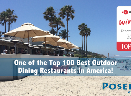 OpenTable Diners Names Poseidon One of the 100 Best Outdoor Dining Restaurants
