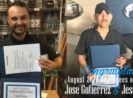 Shout Out to our Poseidon August 2017 Employees of the Month