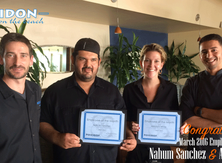 March 2016 Employees of the Month