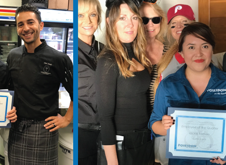 Congratulation to Our Poseidon Employees of the Quarter Q3