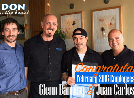February 2016 Employees of the Month