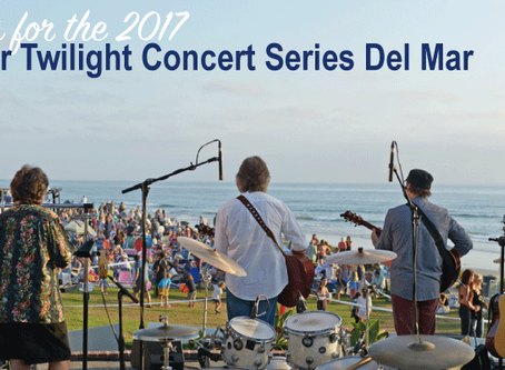 Del Mar Summer Twilight Concert Series 2017