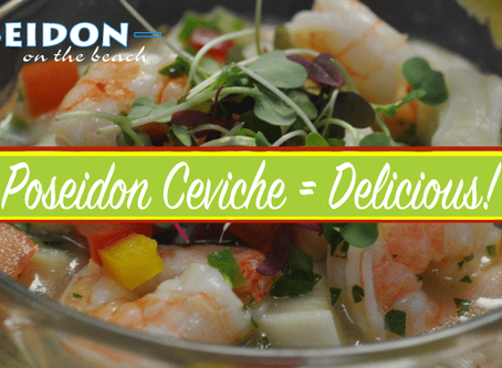 Poseidon Ceviche A Traditional Favorite!