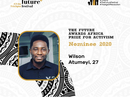 The Future Awards Africa Prize for Activism - Nominee, Wilson Atumeyi
