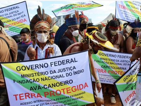 Global protests as Brazil's Supreme Court set to begin landmark indigenous rights ruling