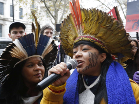 Call: Protest in London against the Brazilian government's genocidal attack on indigenous peoples