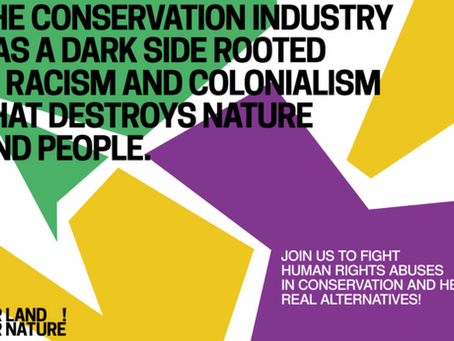 Photocall: Major protest to #DecolonizeConservation to be held in Marseille, France