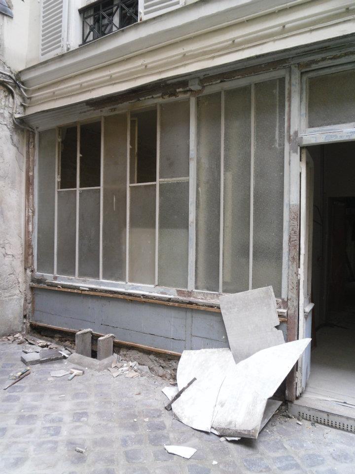 facade bureau avant