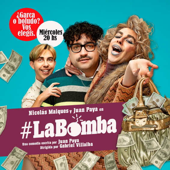 LA BOMBA - NICOLAS MAIQUES - JUAN PAYA