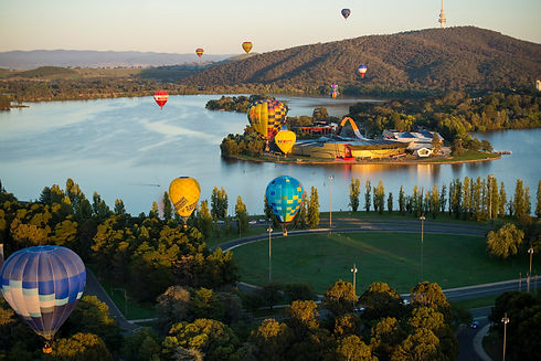 National Museum of Australia and Canberra Balloon Spectacular