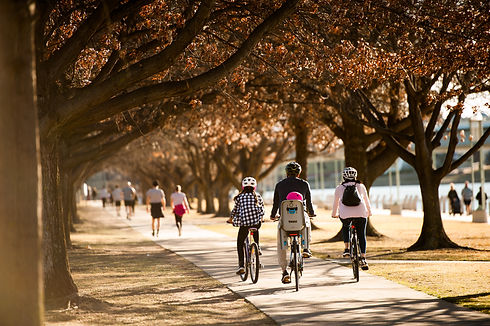 Cycling - Lake Burley Griffin