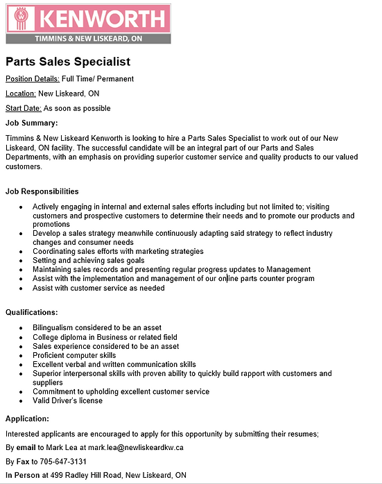 Parts Sales Specialist - 2020.PNG