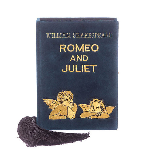 Romeo and Juliet green clutch