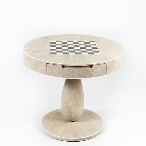 Chess table shagreen