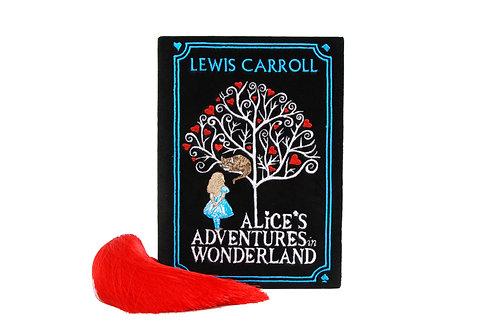 Alice clutchbook black velvet