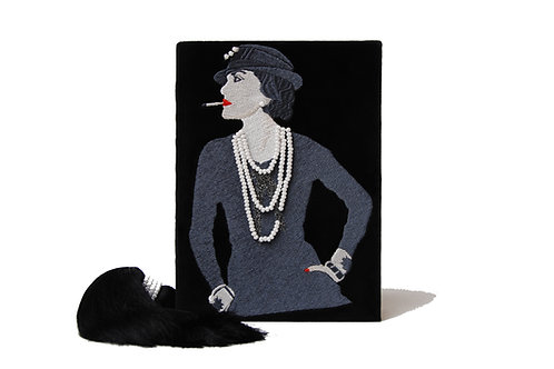 Coco Chanel clutch book