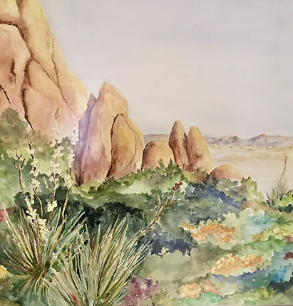 Pat Hardin - water color