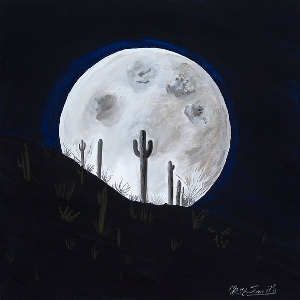 Margy Smith-Desert moon rise