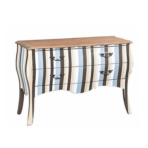 CHEST OF DRAWERS (STRIPE)
