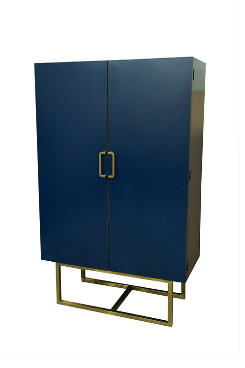TALL CABINET (NAY BLUE)