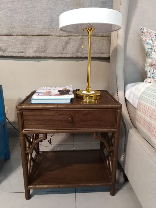BAMBOO NIGHT STAND (ANTIQUE)