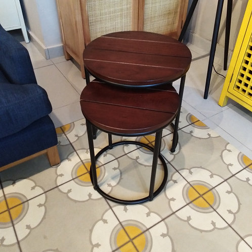 ROUND NEST SIDE TABLE