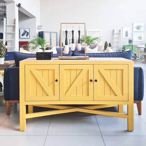 COUNTRY SIDEBOARD (YELLOW)