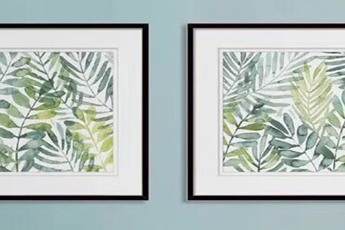 BOTANICAL FRAMED PRINTS (SET-2)