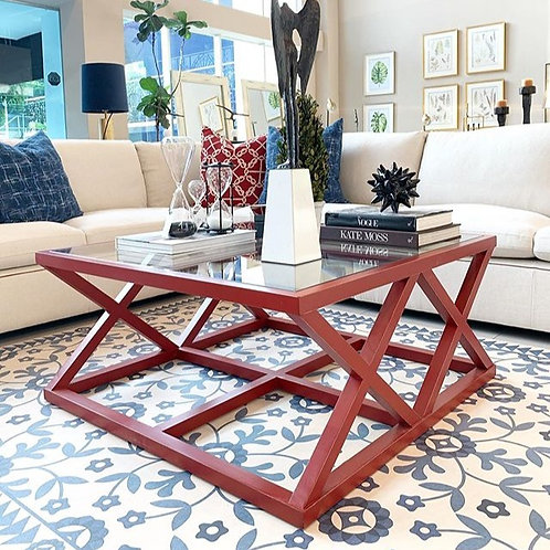COFFEE TABLE (RED)