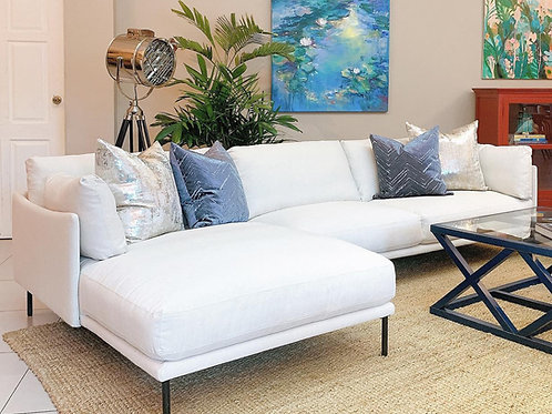 SECTIONAL SOFA-LEFT CHAISE