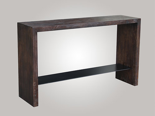 CONSOLE TABLE (BROWN)