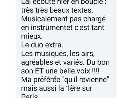 Commentaires.