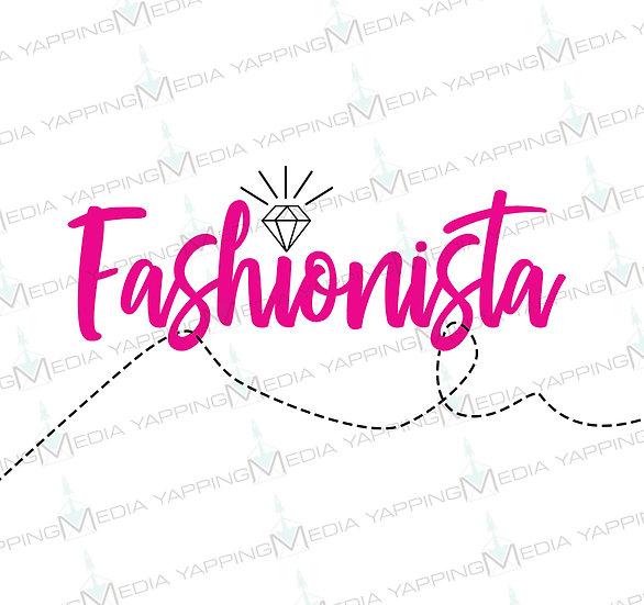 Fashionista- Custom Face Mask Design (PDF Image)