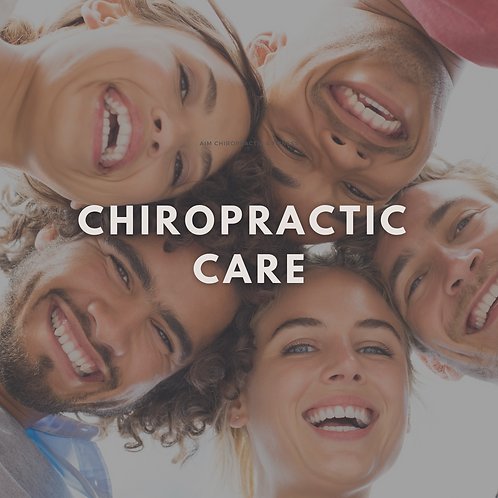 Chiropractic Care - 3 Pack
