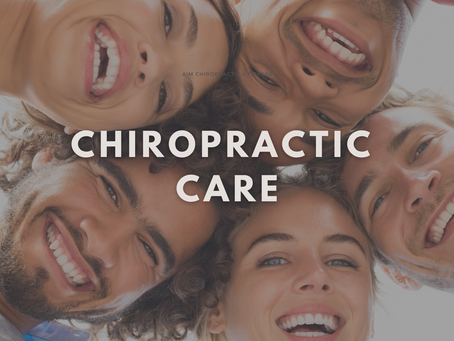 """Why We are more than Just Your """"Cracking of Backs and Necks"""" Chiropractors."""