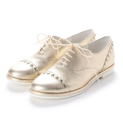 Oxford shoes Gold